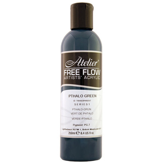 Atelier Free Flow 250ml S1 - Phthalo Green