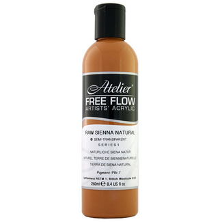Atelier Free Flow 250ml S1 - Raw Sienna Natural