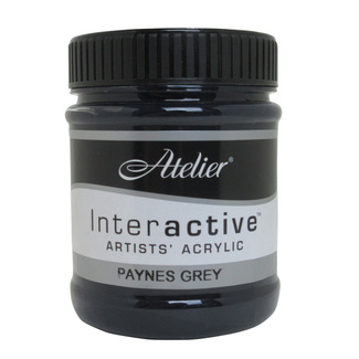 Atelier Interactive Acrylic Paint 250ml S2 - Paynes Grey
