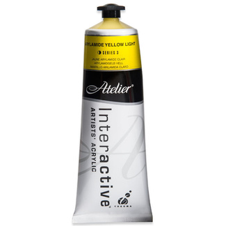 Atelier Interactive Acrylic Paint 80ml S3 - Arylamide Yellow Light