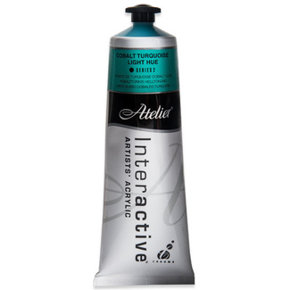 Atelier Interactive Acrylic Paint 80ML S2 - COBALT TURQUOISE LIGHT HUE