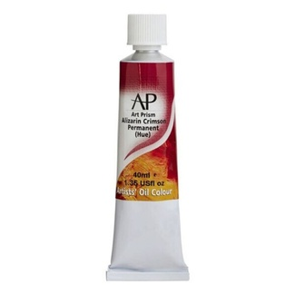 Art Prism Oil Paint 40ml Alizarin Crimson