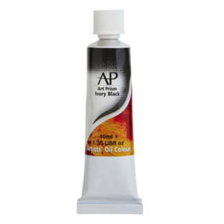 Art Prism Oil Paint 40ml - Ivory Black