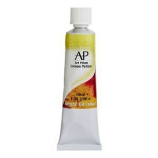 Art Prism Oil Paint 40ml - Lemon Yellow