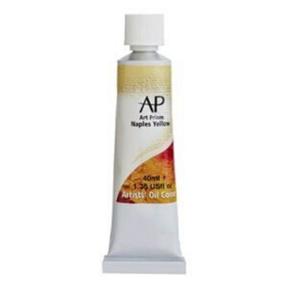 Art Prism Oil Paint 40ml Naples Yellow