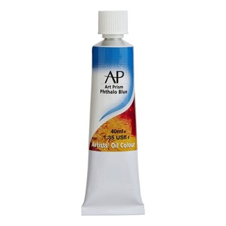 Art Prism Oil Paint 40ml - Phthalo Blue