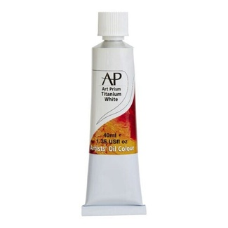 Art Prism Oil Paint 40ml Titanium White