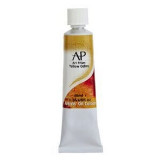 Art Prism Oil Paint 40ml - Yellow Ochre