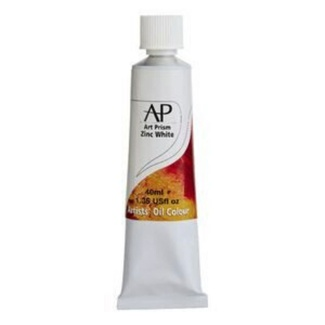 Art Prism Oil Paint 40ml Zinc White