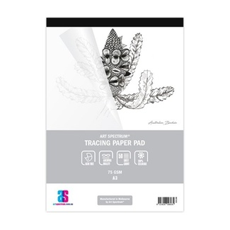 Art Spectrum Tracing Paper Pad A3 75gsm 50 Sheets