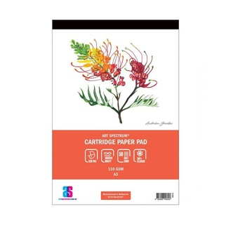 Art Spectrum Cartridge Paper Pad A3 110gsm 50 Sheets