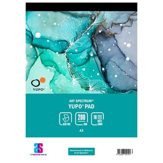 Art Spectrum Yupo Paper Pad A3 200gsm 10 Sheets