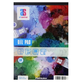 Art Spectrum Oil Paint Pad A4 300gsm