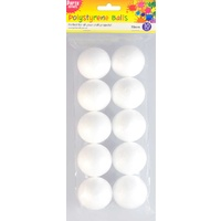 Polystyrene Ball 55mm 10pc