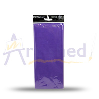 Portacraft Tissue Paper Pack 50x70cm 10 sheets - Purple