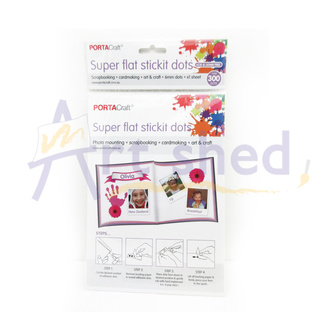 Craft Tools - Stickit Dots Super Flat 322pc