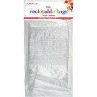 Resealable Bag 75x100mm 80pc
