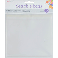 Sealable Bag Square 145x145mm 25pc