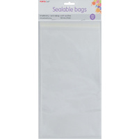 Sealable Bag Square Open 145x145mm 20pc
