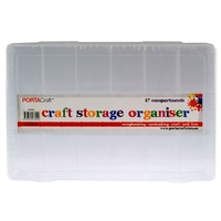 Craft Storage Box - 17 Compartment Organiser