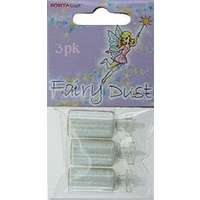 Fairy Dust in Mini Glass Jar 3pc