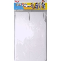 Cardstock Milk Cartons 6pc