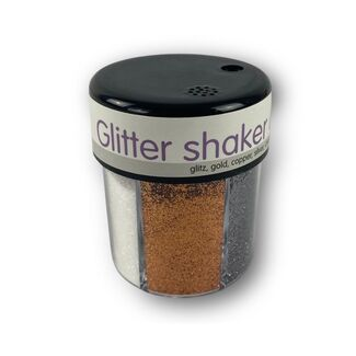 Glitter Shaker 6 Way - Metallic