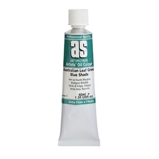 Art Spectrum Oil 40ml S3 - Australian Leaf Green Blue