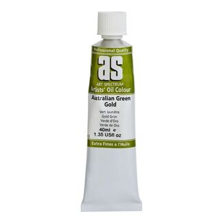 Art Spectrum Oil 40ml S3 - Australian Green Gold