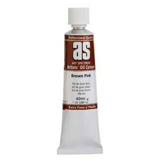Art Spectrum Oil 40ml S3 - Brown Pink