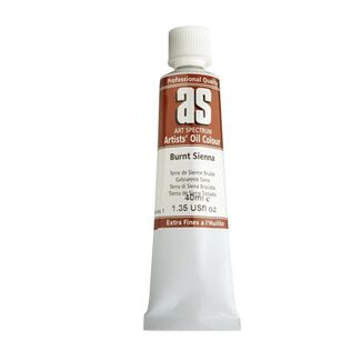 Art Spectrum Oil 40ml S1 - Burnt Sienna
