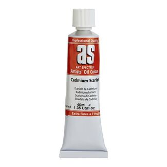 Art Spectrum Oil 40ml S4 - Cadmium Scarlet