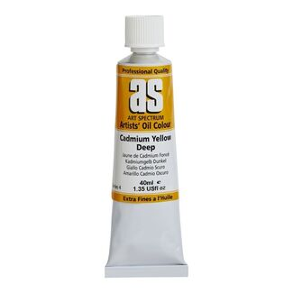 Art Spectrum Oil 40ml S4 - Cadmium Yellow Deep