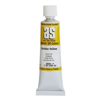 Art Spectrum Oil 40ml S2 - Golden Yellow