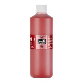 Art Spectrum Pigmented Ink 500ml - Red