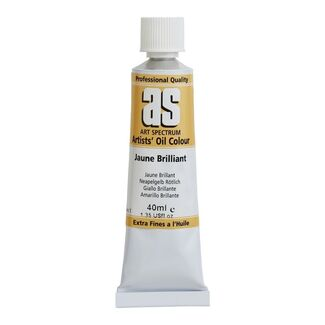 Art Spectrum Oil 40ml S1 - Jaune Brilliant