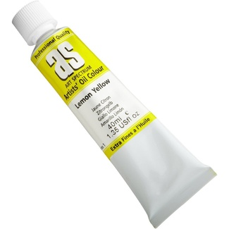 Art Spectrum Oil 40ML Series 1 - Lemon Yellow