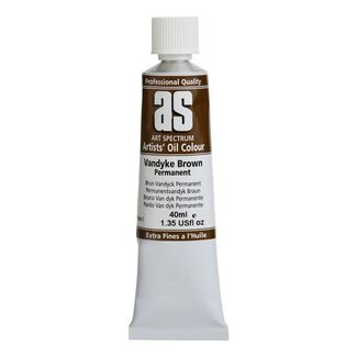 Art Spectrum Oil 40ML Series 1 - Van Dyke Permanent