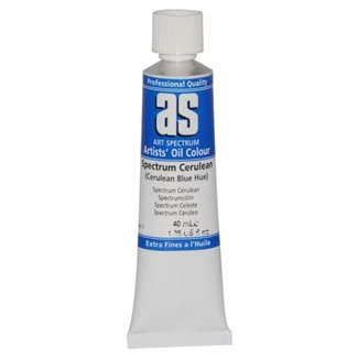 Art Spectrum Oil 40ML Series 1 - Spectrum Cerulean Blue