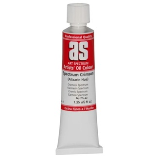 Art Spectrum Oil 40ml S1 - Spectrum Crimson