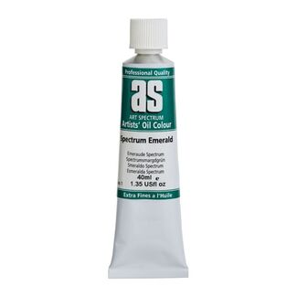 Art Spectrum Oil 40ML Series 1 - Spectrum Emerald