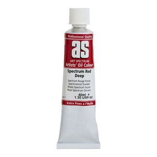 Art Spectrum Oil 40ml S1 - Spectrum Red Deep