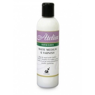 Atelier 250ml - Matte Medium & Varnish