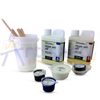 Solid Solutions Resin Art Kit 400ml