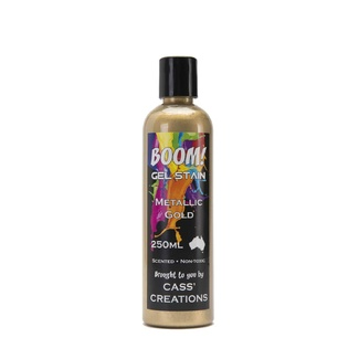 Boom Gel Stain 250ml - Metallic Gold