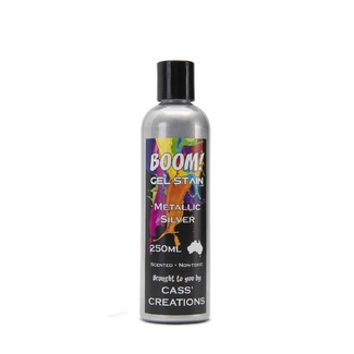 Boom Gel Stain 250ml - Metallic Silver