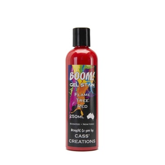 Boom Gel Stain 250ml - Flame Tree Red