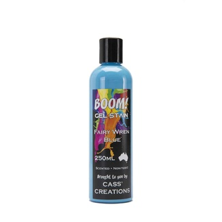 Boom Gel Stain 250ml - Fairy Wren Blue