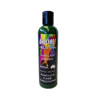 Boom Gel Stain 250ml - Gum Leaf Green