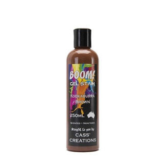 Boom Gel Stain 250ml - Kookaburra Brown